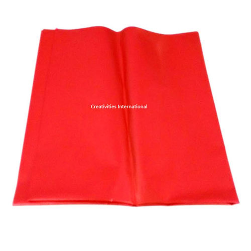 Red Color Bouquet  Wrapping Paper