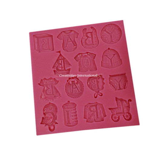 Baby Letters Mold