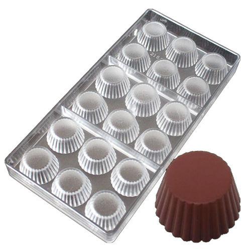 Designer Round Shape Polycarbonate Chocolate Mold