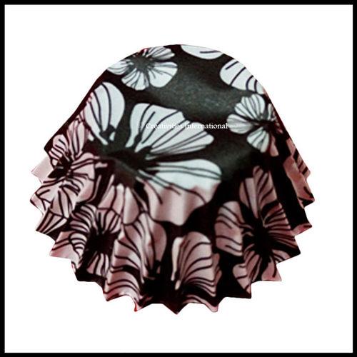 Chocolate Liners Hibiscus Flower Design_6 cm