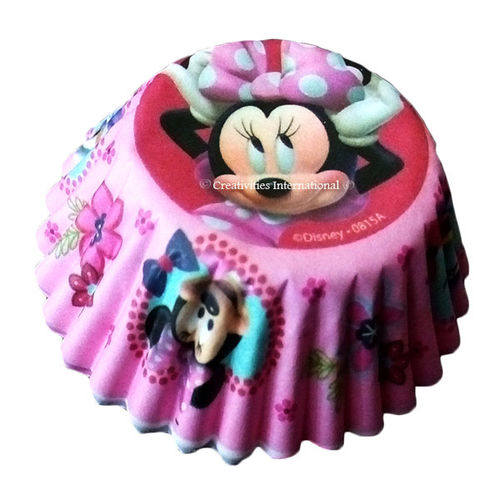 Minnie Mouse Cupcake Liners (Small)