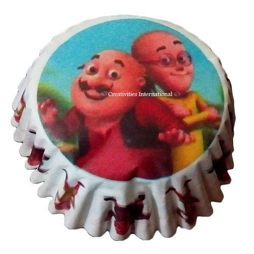 Motu-Patlu Cupcake Liners (Small)