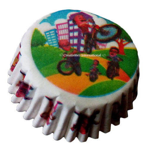Motu-Patlu With Friend Cupcake Liners (Small)