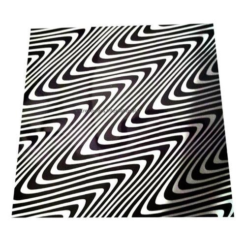 White Swirl Design sheet