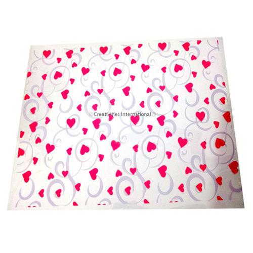 Pink Heart Transfer sheet