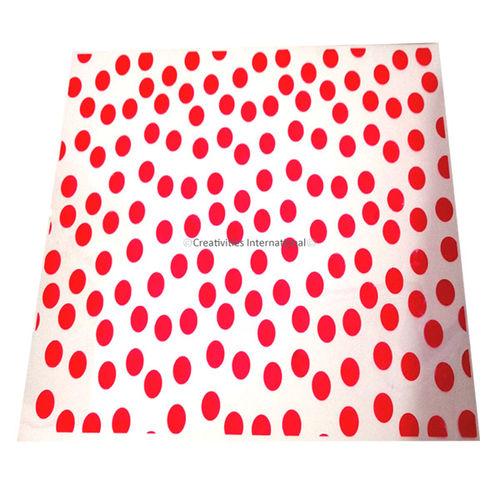 Pink Polka Dots Chocolate  sheet
