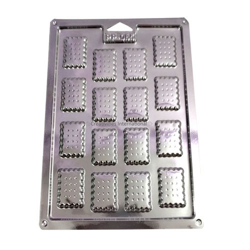 Rectangle Shape Plastic Chocolate Garnishing Mat