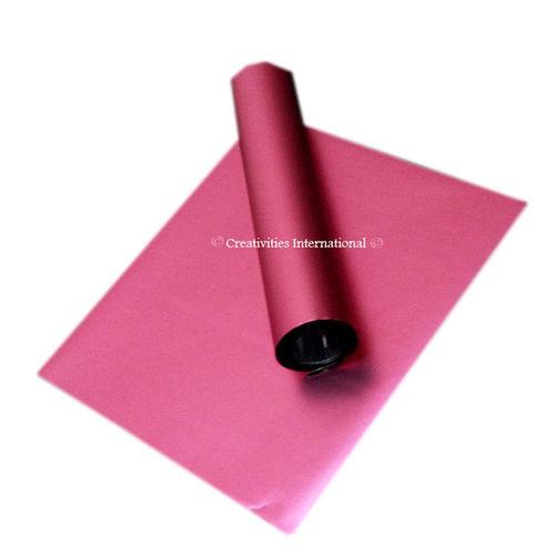 Pink matt finishing sheets