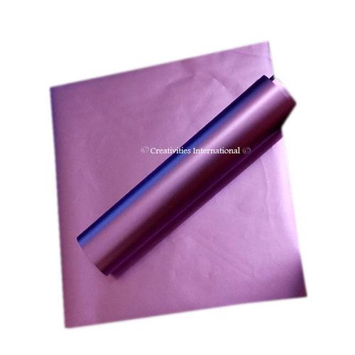 Purple matt finish wrapping paper