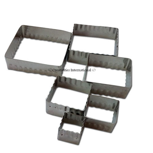 Square Double Cut-Outs Set Cookie Cutter