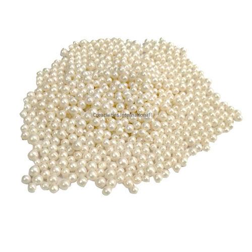 White Ball Cupcake Sprinkles