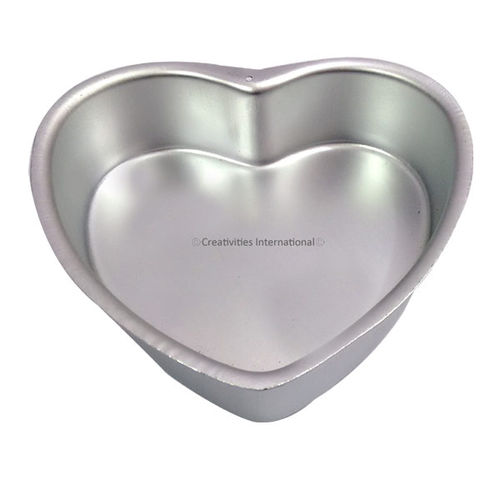 Aluminum Heart Shaped Pans (9 INCH*7.5 INCH*2 INCH) BIG SIZE