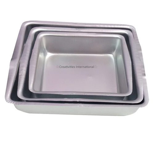 Square Cake Tin Set