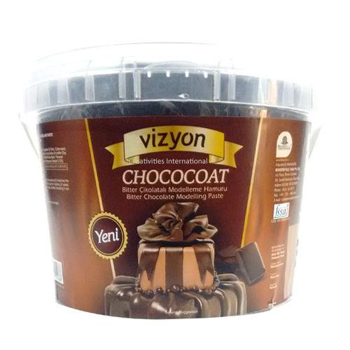 Vizyon Dark Chocolate Modelling Paste 1 kg