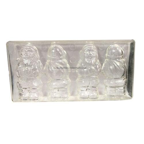 3D Standing Santa Polycarbonate mould