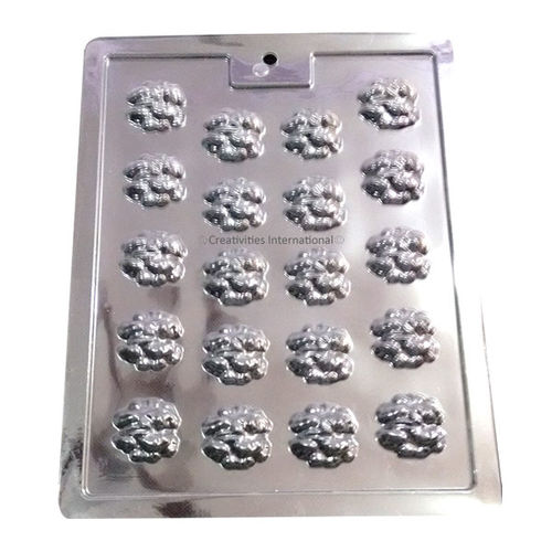 Plastic Chocolate Garnishing Mat Walnuts Shapes