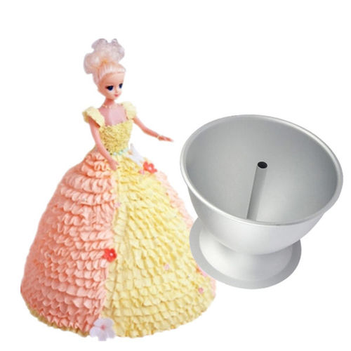 Aluminium Princess Cake Tin (Small)