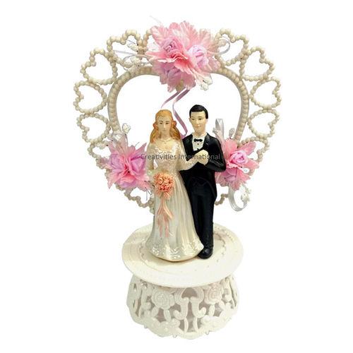 Wedding Cake Topper Happy Valentine's Day