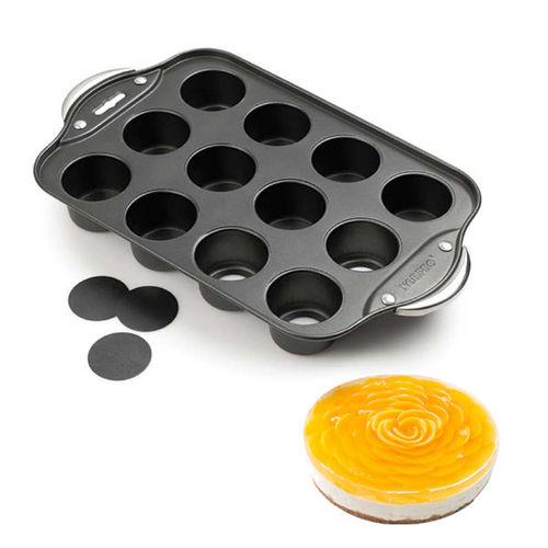 Aluminium mini cheesecake pan Round Shape