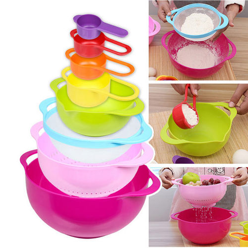 Nested Sweet color mixing bowl 10 pcs set