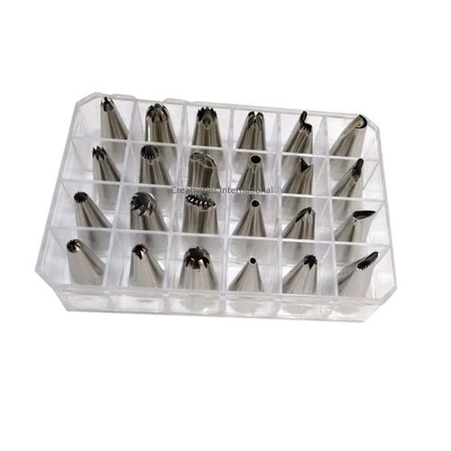 Stainless steel 24 Nozzles set