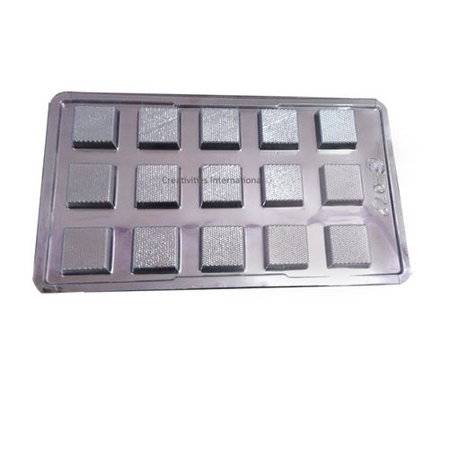 15 Cavity Square Shape Mold