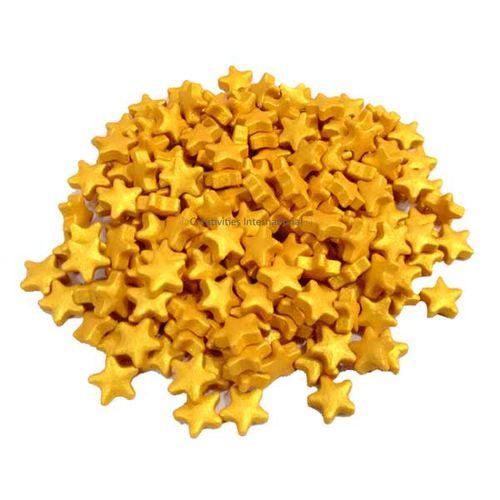 Golden Star Sprinkles (1cm)