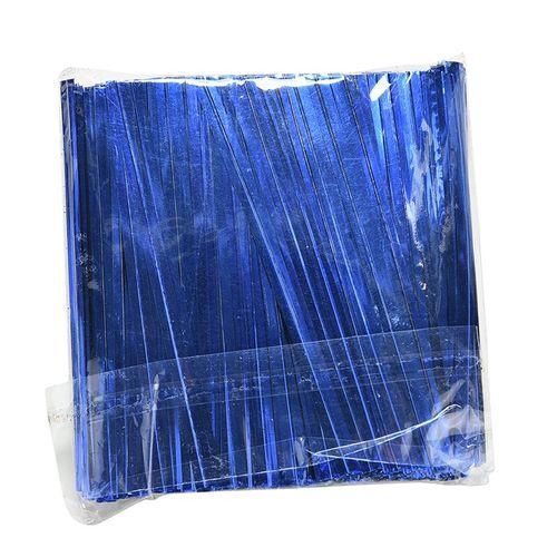 Blue chocolate twisters
