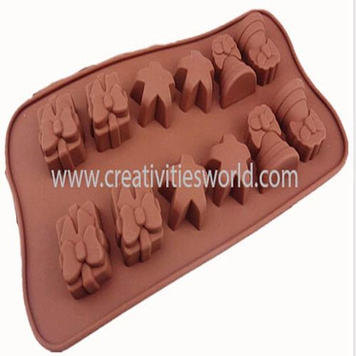 Brown Chess Star Chocolate Mould