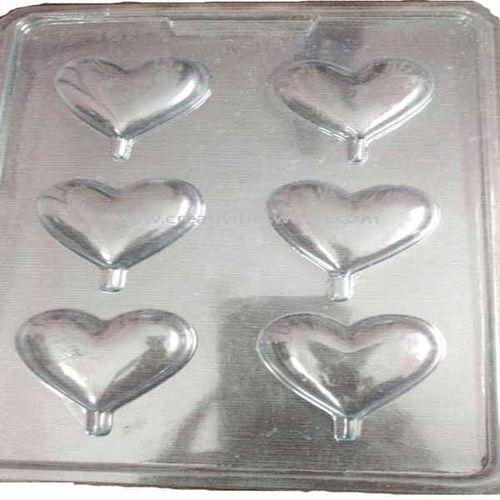 Plastic small heart Mould