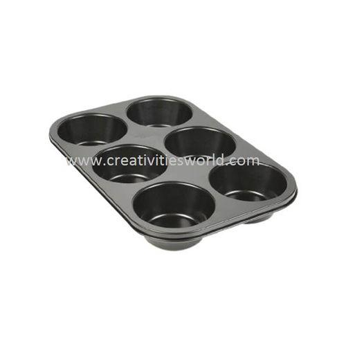 6 Cavity Cup-Cake Pan
