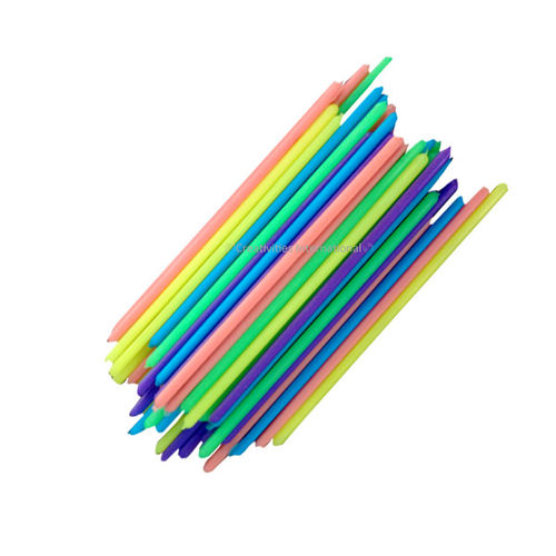 Colorful cake pop sticks