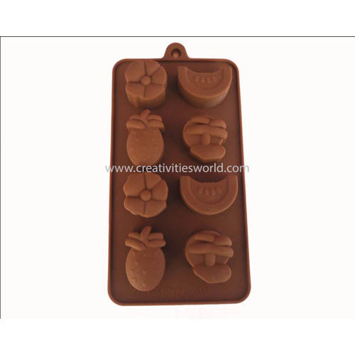 Brown Fruit Chocolate Mould