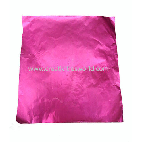 Metalic Plain Pink Sheets