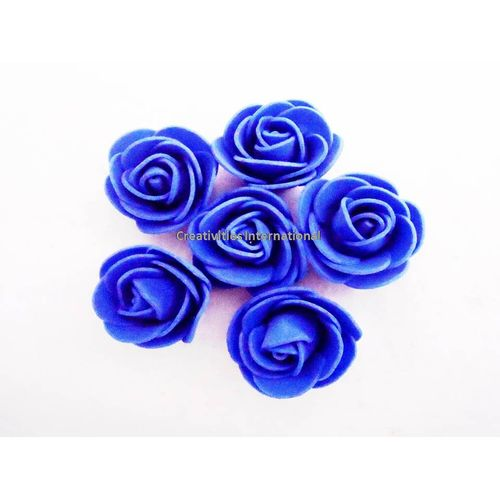 BLUE FOAM FLOWERS(MEDIUM)