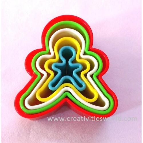 Gingerman shape Cookie Cutter