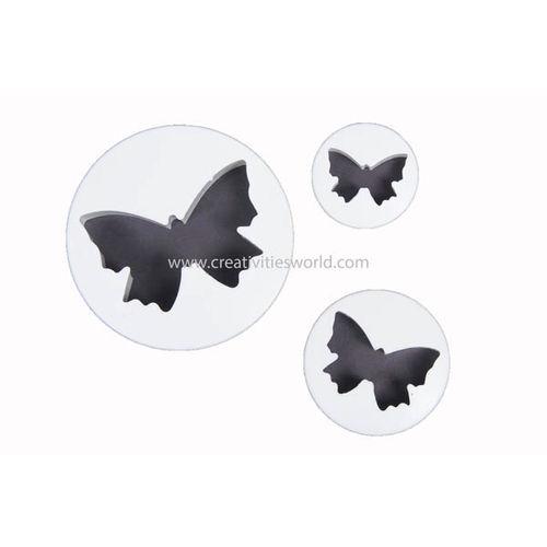 Butterfly Plunger Cutter (Set of 3)