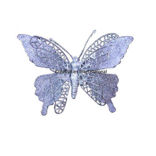 Silver Gitter Butterfly