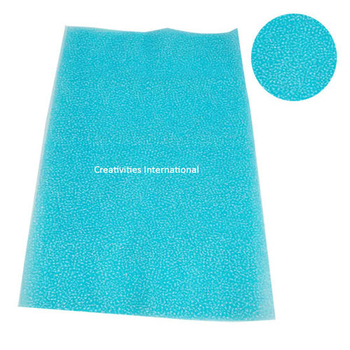Thermocol sky blue color tissue sheet