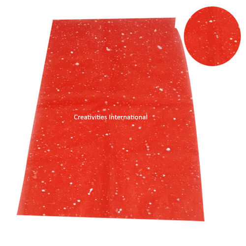 Thermocol net red color tissue sheet