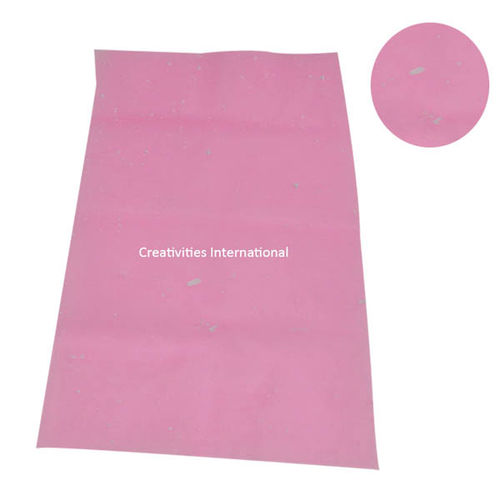 Thermocol net pink color tissue sheet