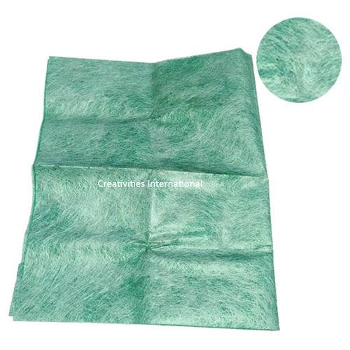 Green color Jute material tissue sheet