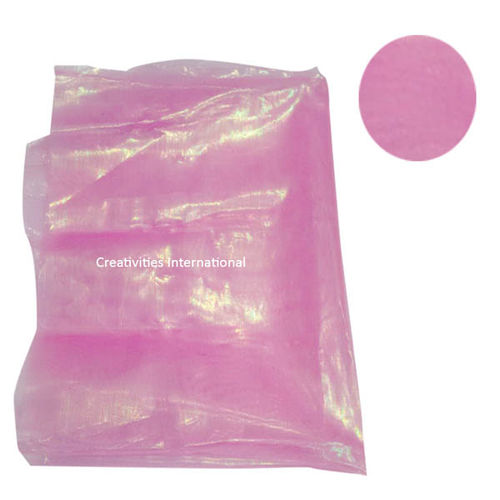 Pink color shiny tissue sheet