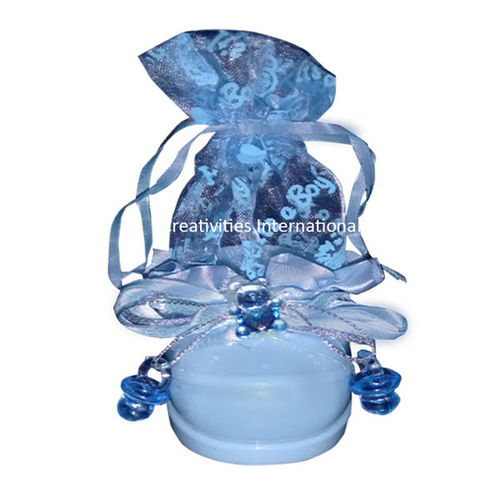 Blue Baby Shoe Chocolate Box