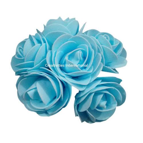 Blue Foam Flower Bunch