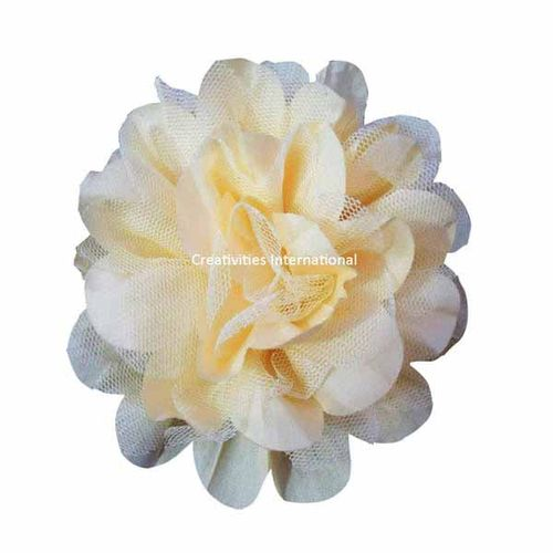 Yellow Satin Bow Flower
