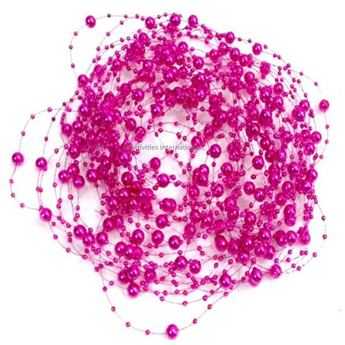 Pink color Metallic String
