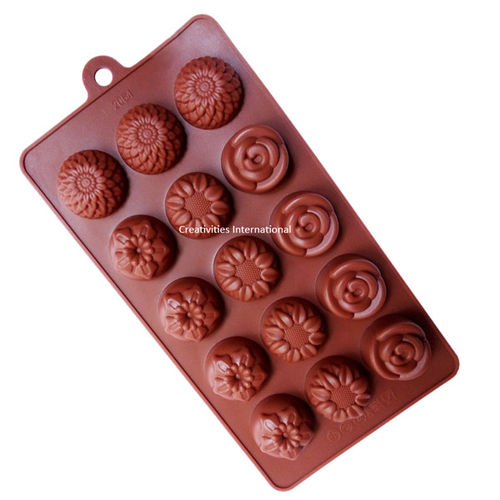 Multiflower Shape Chocolate Mould