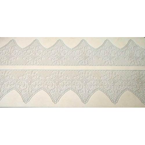 Triangular Curve Cake Border Lace mat
