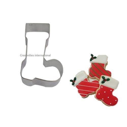 Santa Shoe Cookie Cutter